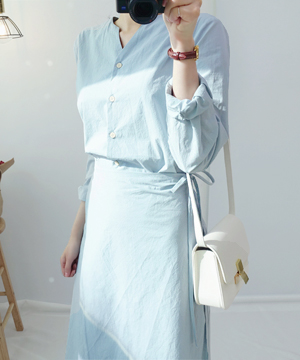 eun-wrap DRESS (SALE)(당일출고)