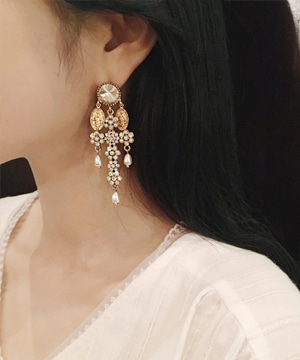 glam berry earring