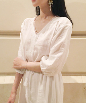 lace robe DRESS (당일출고)