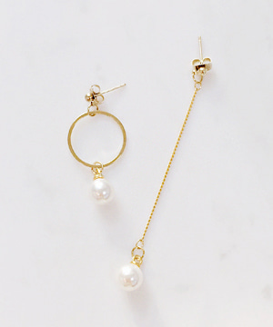 drop n ring earring