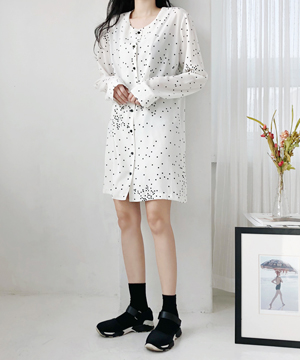 dot-dot mini DRESS (SALE)(당일출고)