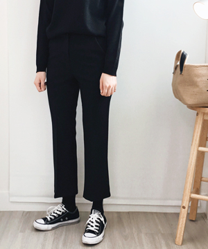 B-boots cut slacks