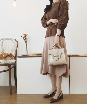 beige flare SK (SALE)